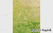Satellite Map of Kano
