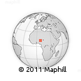 Outline Map of Shanono