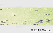 Physical Panoramic Map of Tsanyawa