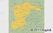 Savanna Style 3D Map of Katsina