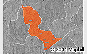 Political Map of Bakori, desaturated