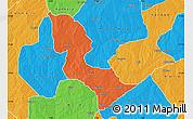 Political Map of Bakori