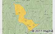 Savanna Style Map of Bakori