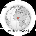 Outline Map of Bakori