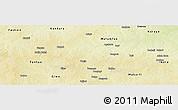 Physical Panoramic Map of Bakori