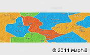 Political Panoramic Map of Bakori