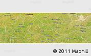 Satellite Panoramic Map of Bakori