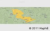Savanna Style Panoramic Map of Bakori