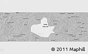 Gray Panoramic Map of Funtua