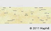 Physical Panoramic Map of Funtua