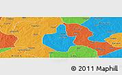 Political Panoramic Map of Funtua