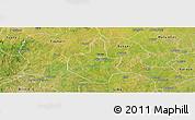 Satellite Panoramic Map of Funtua