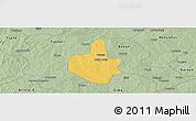 Savanna Style Panoramic Map of Funtua
