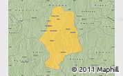 Savanna Style Map of Malumfas