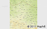 Physical Map of Katsina