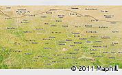Satellite Panoramic Map of Katsina
