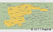 Savanna Style Panoramic Map of Katsina