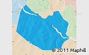 Political Map of Bagudo, lighten