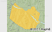 Savanna Style Map of Bagudo