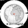 Outline Map of Bagudo