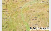 Satellite Map of Bunza