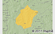 Savanna Style Map of Bunza