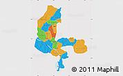 Political Map of Kebbi, cropped outside