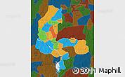 Political Map of Kebbi, darken