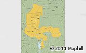 Savanna Style Map of Kebbi