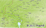 Physical Panoramic Map of Kebbi