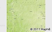 Physical Map of Sakaba