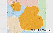 Political Map of Sakaba, lighten