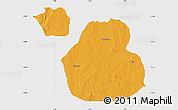 Political Map of Sakaba, single color outside