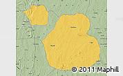 Savanna Style Map of Sakaba