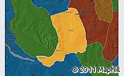 Political Map of Suru, darken