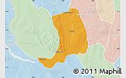 Political Map of Suru, lighten