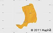Political Map of Suru, single color outside