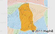 Political Map of Ankpa, lighten