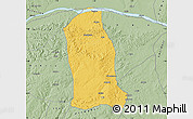 Savanna Style Map of Ankpa