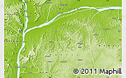 Physical Map of Bassa