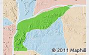 Political Map of Bassa, lighten