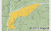 Savanna Style Map of Bassa
