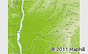 Physical 3D Map of Idah
