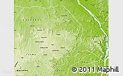 Physical Map of Kabba/Bu