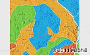 Political Map of Kabba/Bu