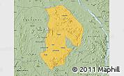 Savanna Style Map of Kabba/Bu