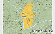 Savanna Style Map of Kogi