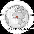 Outline Map of Kogi