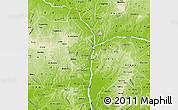 Physical Map of Kogi