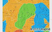 Political Map of YagbaEas